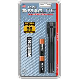 Фонарь MAGLITE Mini 2AA чёрный 14,6см