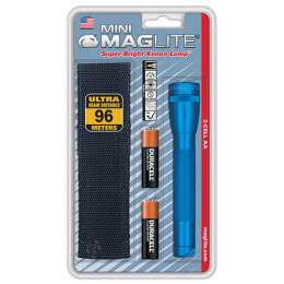Фонарь MAGLITE Mini, 2AA, синий, 14,6 см